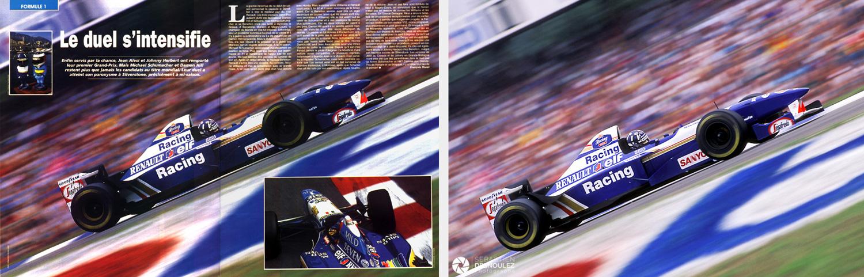<strong>Motorsport<span><br /><small><figcaption>Publication presse dans le magazine Speed et photo originale - GP Allemagne F1 1995 - Damon Hill (GBR) / Williams-Renault - Photo : © Sebastien Desnoulez</figcaption><small><br /><b>voir en plein écran</b></span></strong><i>&rarr;</i>