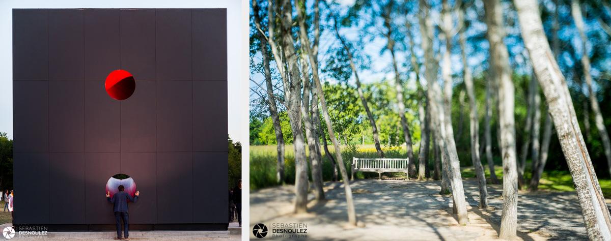 <strong>Ambiances<span><br /><small><figcaption>Anish Kapoor installation à Versailles et Banc au Festival des Parcs et Jardins - Chaumont sur Loire - 2015 - Photo : ©Sebastien Desnoulez</figcaption><small><br /><b>voir en plein écran</b></span></strong><i>→</i>