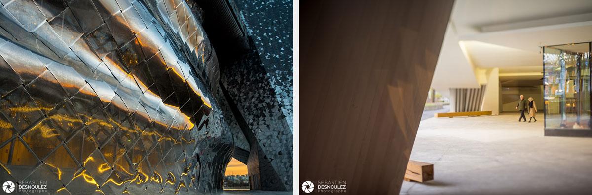 <strong>Ambiances<span><br /><small><figcaption>Architecture : Philharmonie de Paris, Parc de La Villette - Photo  : © Sebastien Desnoulez</figcaption><small><br /><b>voir en plein écran</b></span></strong><i>→</i>