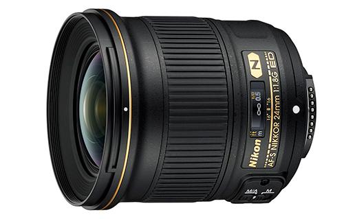 Nikon présente le 24mm f/1,8G ED