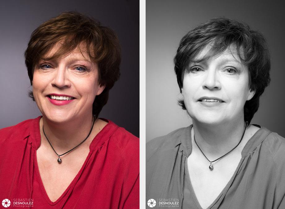<strong>Murielle<span><br /><small><figcaption>Portrait en studio - Photo : © Sebastien Desnoulez</figcaption><small><br /><b>voir en plein écran</b></span></strong><i>→</i>