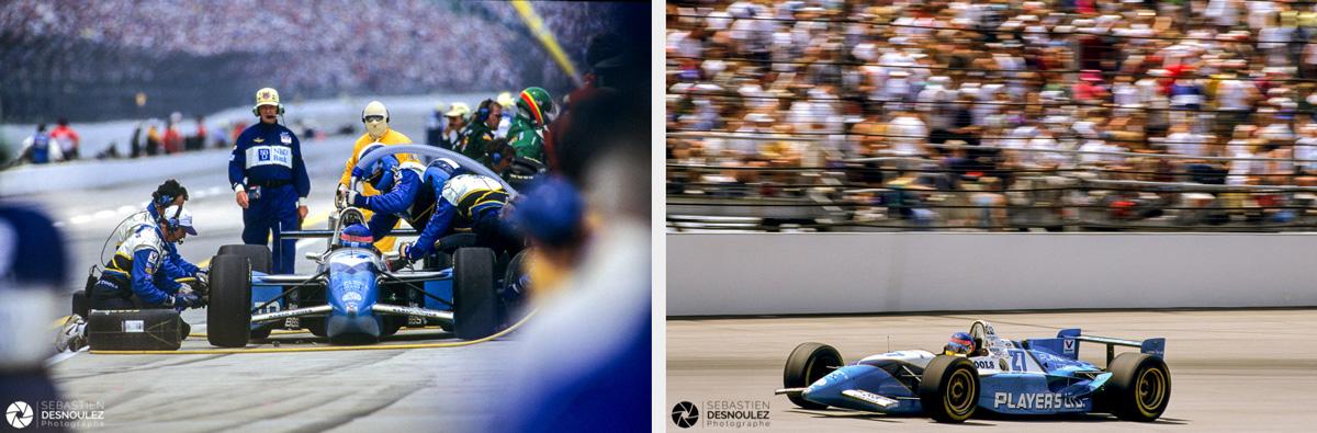 <strong>Motorsport<span><br /><small><figcaption>Reportage presse spécialisée auto - Indianapolis 500 Miles 1995 - Jacques Villeneuve (CAN) vainqueur  - Photos : ©Sebastien Desnoulez</figcaption><small><br /><b>voir en plein écran</b></span></strong><i>&rarr;</i>