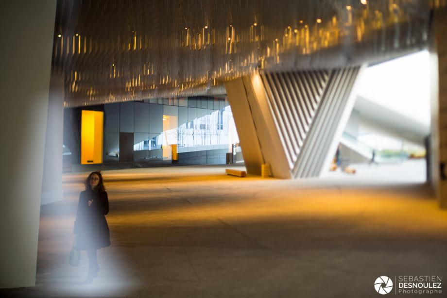 <strong>Ambiances<span><br /><small><figcaption>Architecture - Sous la Philharmonie de Paris, Parc de la Villette, Paris - Photo : Sebastien Desnoulez</figcaption><small><br /><b>voir en plein écran</b></span></strong><i>→</i>