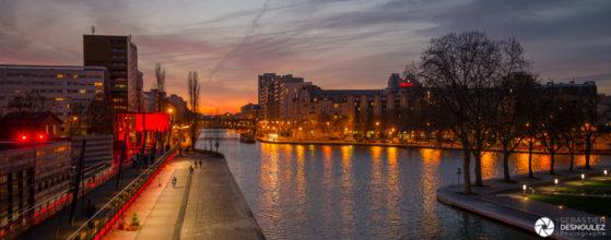 Bassin de la Villette, Paris - Photo : Sebastien Desnoulez