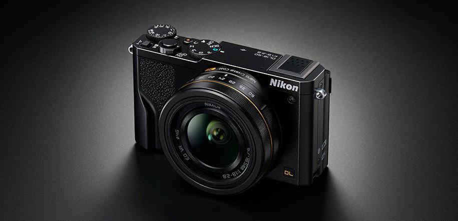 Nikon annonce les compacts experts DL à capteurs 1″