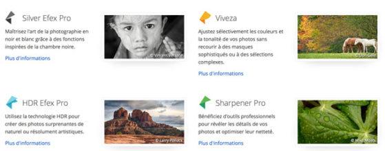 Google offre les filtres de la collection Nik Software