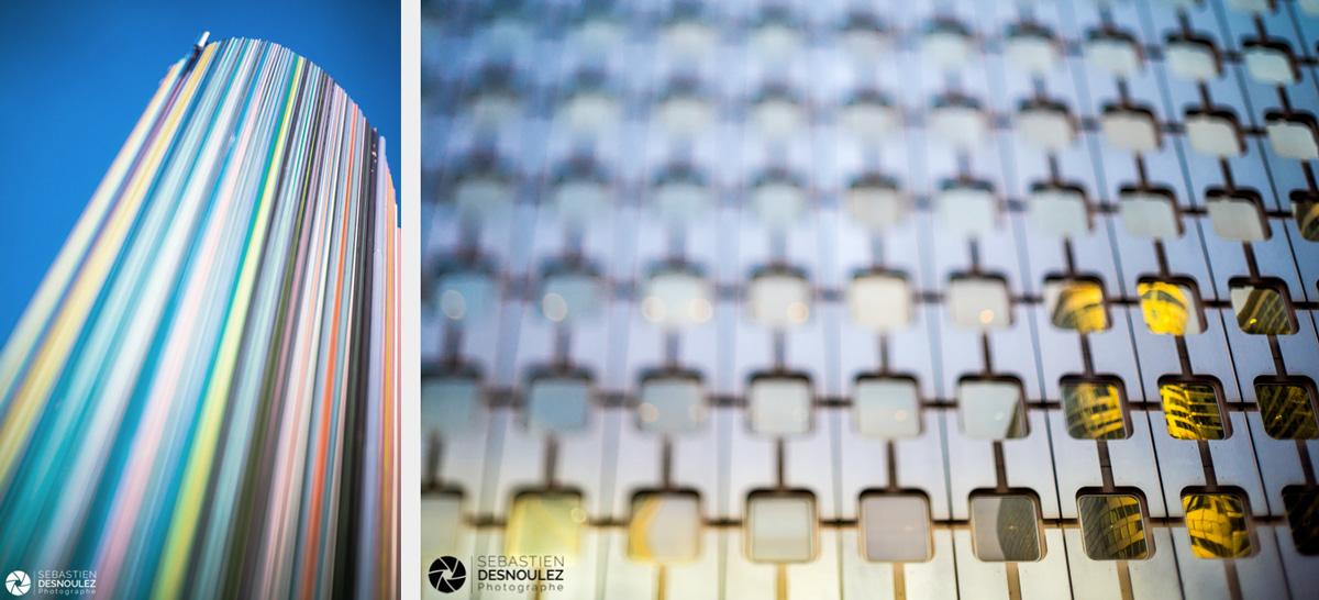 <strong>Photographe d'architecture à Paris<span><br /><small><figcaption>Architecture - Le Moretti et reflets dans les vitres de la tour Ariane à la Défense - photos : Sebastien Desnoulez</figcaption><small><br /><b>voir en plein écran</b></span></strong><i>→</i>