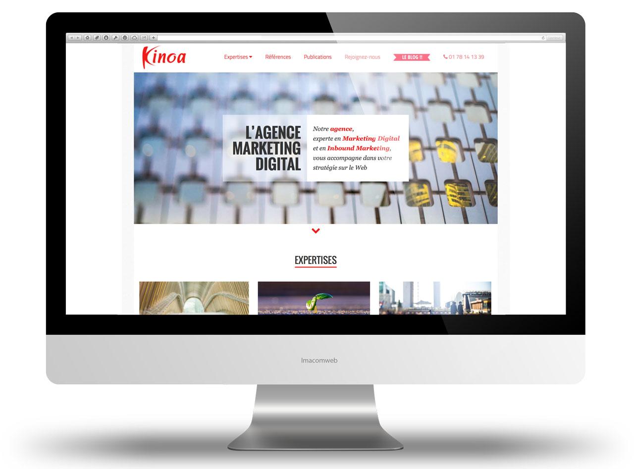 Réalisation des photos du nouveau site de l'agence digitale Kinoa
