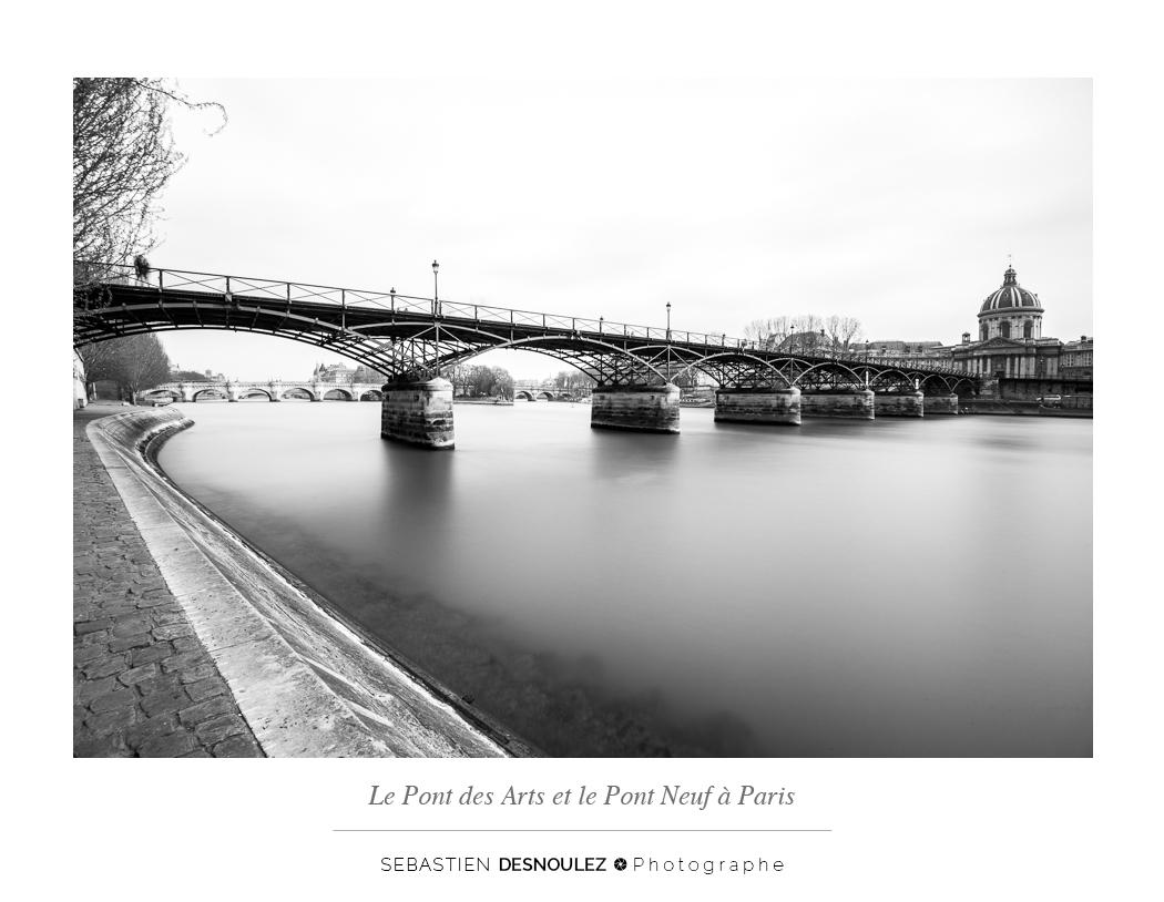 <strong>Galerie Photo Noir et Blanc<span><br /><small><figcaption>Le Pont des Arts et le Pont Neuf à Paris - Photo : Sebastien Desnoulez Photographe</figcaption><small><br /><b>voir en plein écran</b></span></strong><i>→</i>