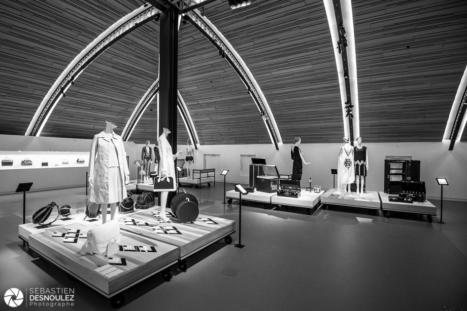 Visite de la Galerie Louis Vuitton à Asnières