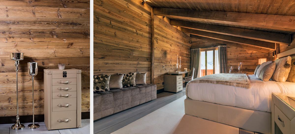 <strong>Shooting architecture et décoration d'intérieur hôtel de luxe à Gstaad<span><br /><small><figcaption>Chambre et déco hôtel de luxe à Gstaad - photo : © Sebastien Desnoulez</figcaption><small><br /><b>voir en plein écran</b></span></strong><i>→</i>