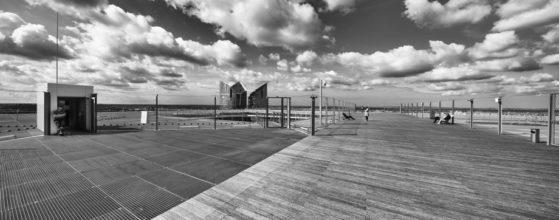 Terrasse de la Grande Arche de la Défense - Photo architecture : © Sebastien Desnoulez photographe