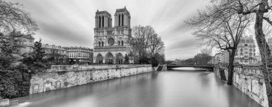 La Seine en crue à Notre-Dame de Paris - Photo : © Sebastien Desnoulez Photographe Architecture