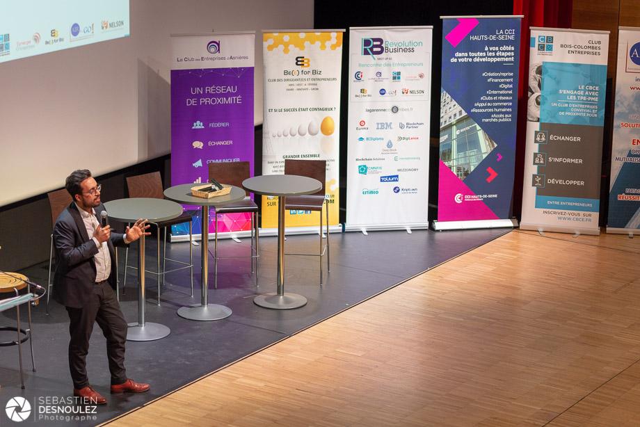Soirée Revolution Business Meet Up 92 sur le thème de la Blockchain