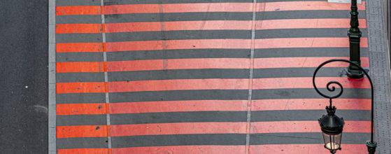 Le VTC et la zone rouge - La Défense - Photo : © Sebastien Desnoulez photographe d'ambiances et d'architecture