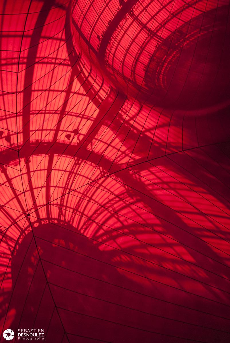 Monumenta 2011 – Installation Anish Kapoor au Grand Palais