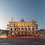 Opéra Garnier à Paris à la tombée de la nuit - Photo : © Sebastien Desnoulez photographe d'ambiances et d'architecture