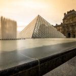 Pyramide du Louvre Paris - Photo : © Sebastien Desnoulez photographe d'ambiances et d'architecture
