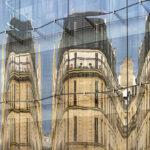 Reflets sur la façade en verre de la Samaritaine à Paris - Photo : © Sebastien Desnoulez photographe d'ambiances et d'architecture