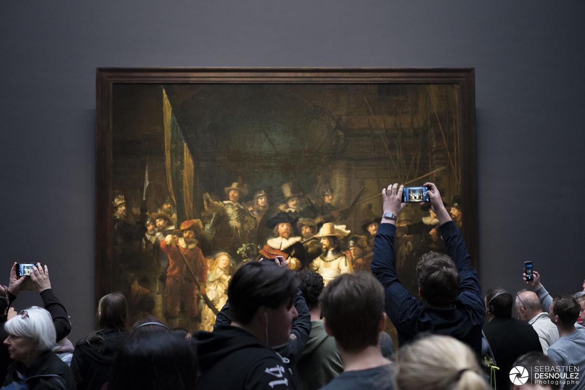 Rembrandt la relève de la garde Rijksmuseum Amsterdam